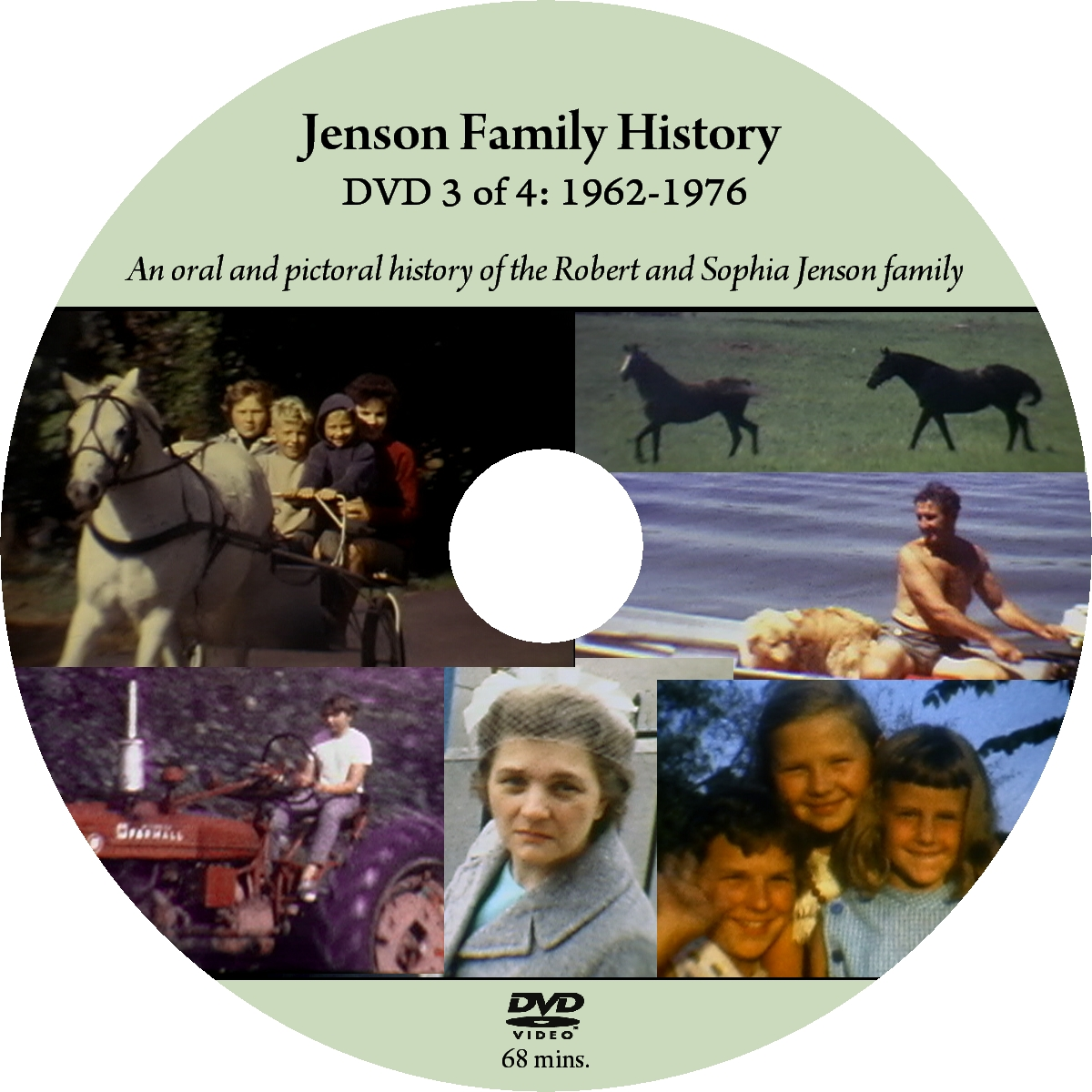 Oral and Pictoral Family History on DVD